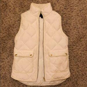 J Crew puffy vest